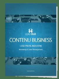 CONTENU BUSINESS CASE PROFIL INDUSTRIE